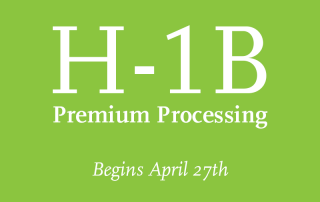 H-1B Premium Processing Begins April 27th 2015